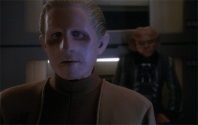 Odo really shouldn't get so bent out of shape...