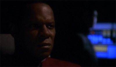 "Sisko was pleased to discover that the Defiant's other designers had not removed his suggested ""atmospheric alert"" setting..."