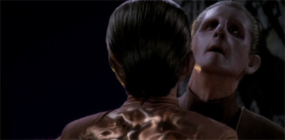 Odo is putty in her hands...
