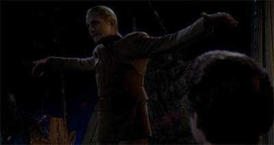 Odo takes flight...