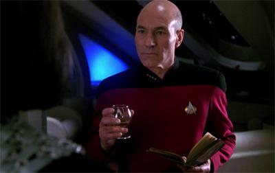 Yep, it's a bit of a light week for the Enterprise crew...