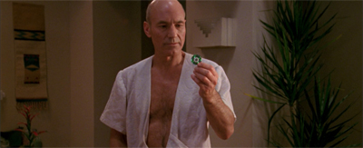 Picard does his best to chip in...