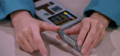Star Trek also invented USB sticks!