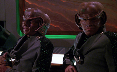 Two Ferengi walk into a bar...