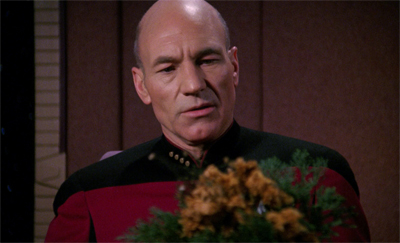 """But, Mr. Data, it's not my birthday!"""