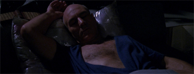 "Picard had enough of Kirk being voted ""Sexiest Enterprise Captain"" and took the matter into his own hands..."