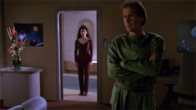 Troi-ing to get through to him...