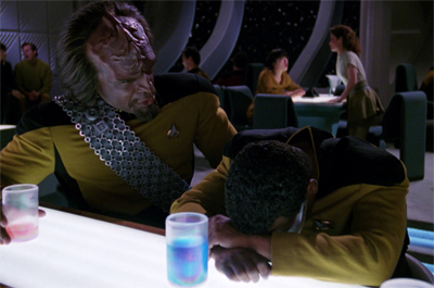 I would totally watch a remake of Hitch starring Worf.