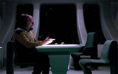 Stuck in a time Worf...