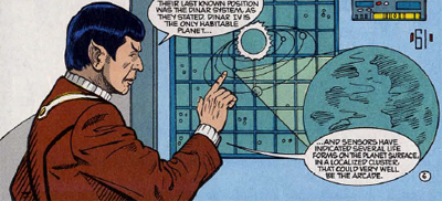Spock maps it all out...