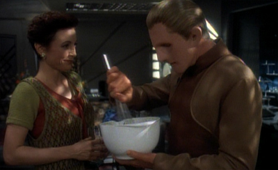 Odo stirs things up...