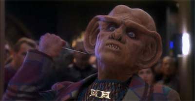 Quark's got some neck...