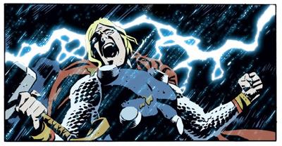 Thor lightening up...