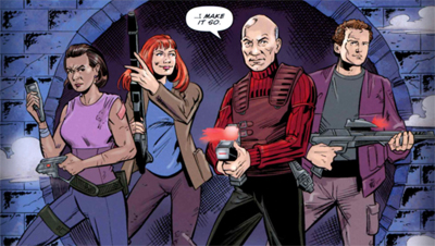 Picard's street crew...