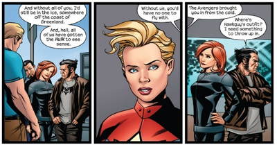 Assembled Avengers...