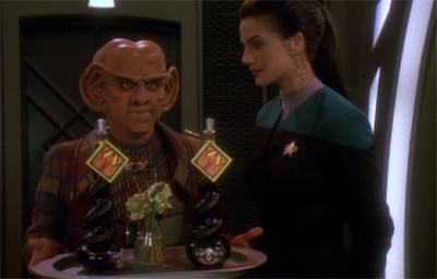 Quark's got some bottle...