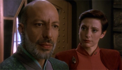 """Might I suggest that you could also look badass with a bald head and a beard, Commander?"""