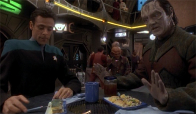 Imagine how ticked off Bashir would have been if Garak forgot his birthday...