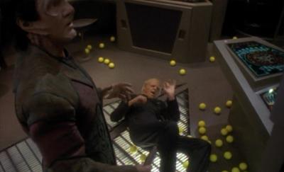 The stars' tennis balls...