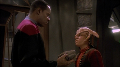 Nog will be the gold(-pressed latinum) standard...