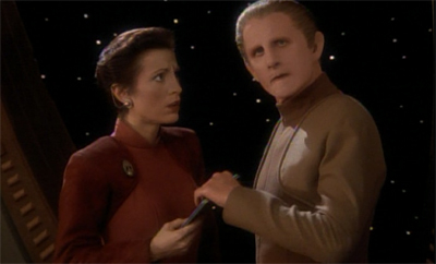 "Odo's ""bad episode"" sense is tingling..."