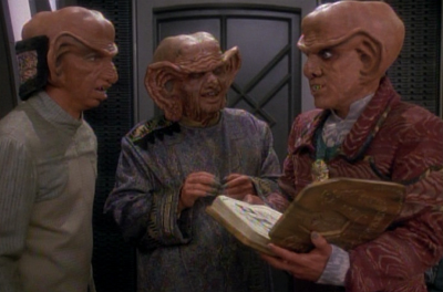 Being the Nagus' friends Rules!