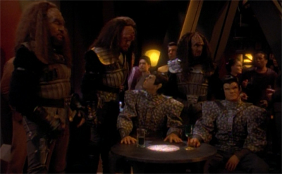 A bunch of Klingons walk into a bar...