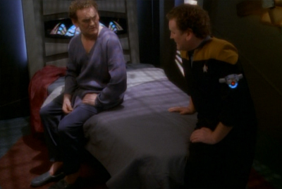 """You know, I'd like to think Starfleet would have pensioned me off by this point..."""