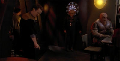 "Quark already regrets volunteering for whatever the hell ""William Tell"" is..."
