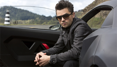 "Although his clothing, type of vehicle and general associated colour scheme immediately establish him as the villain, at no point does Dominic Cooper cackle madly to himself or mumble about ""those pesky kids""..."