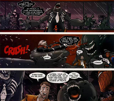 Such anger and venom...