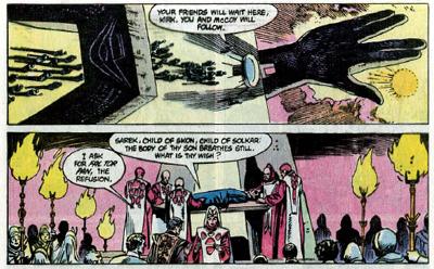 We salute you, Vulcan mystics!