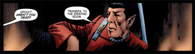 Spock's dead tired of people asking him that...