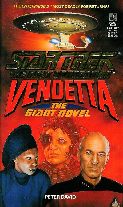Star Trek The Next Generation Vendetta By Peter David Review