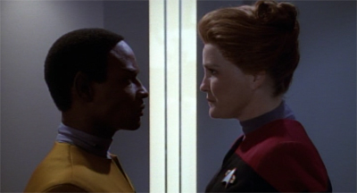 Janeway could do with lightening up...