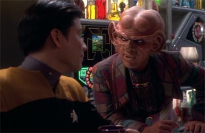 A Quark-y cameo...