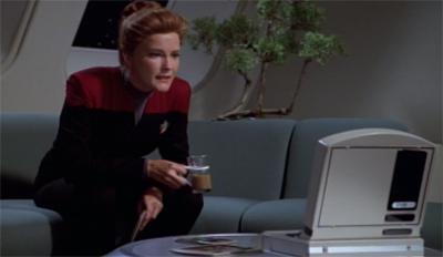 Make way for Janeway...