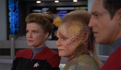 With support like these two, how could Janeway fail?