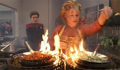 What is Neelix cooking up?
