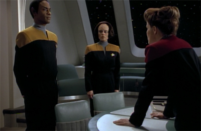 """You just be glad Picard isn't here. He'd make you feel SO guilty."""