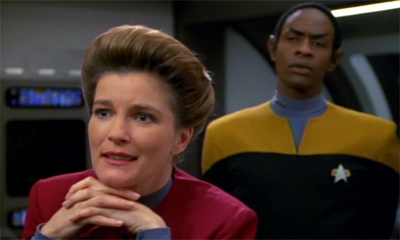 """Quite a mess (hall) you've made of this one, Tuvok..."""