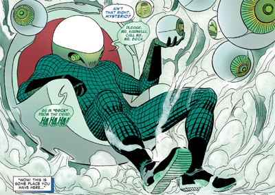 Image result for mysterio the gauntlet