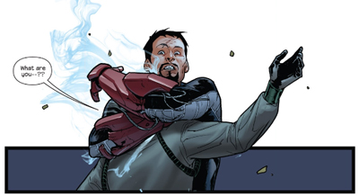 Stark raving mad...