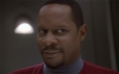 To be fair, Sisko's cooking skills would make him a terrifyingly effective cannibal...