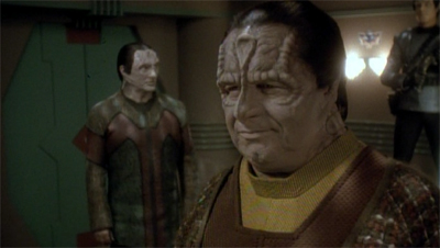 Garak tries to con-Tain his excitement...