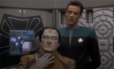 Garak's neck is on the line...