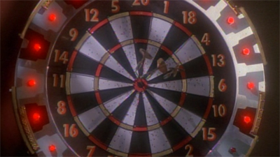 The episode is not quite a bullseye...