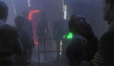 Sadly, they cut the Intendent and Garak's manic laugh from the random executions scene...