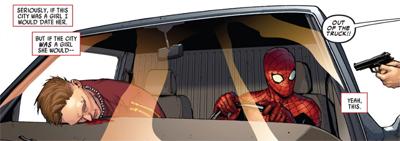 Spidey's got drive...