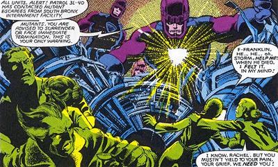 Menaces to mutants...